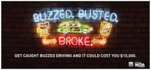 Buzzed busted and broke